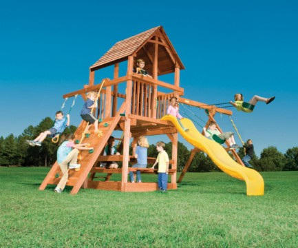 ������� ��������� ������� / Woodplay / Playhouse RedWood