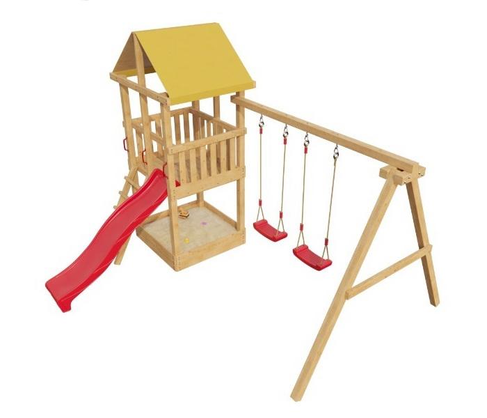 купить деревянные уличный детский комплекс самсон элемент 3