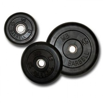 ����� � ���������� ��������� 26 �� / MB Barbell / MB-PltB26-2,5