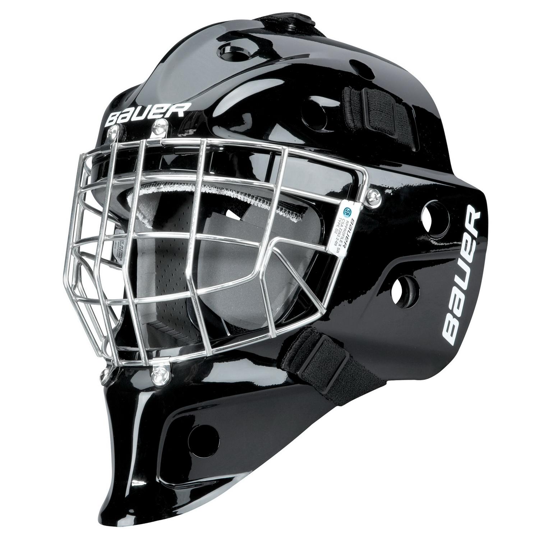 Bauer RP624 Profile 1200 2500 GOALIE SR CAGE Hockey CertifIed Cateye Chrome
