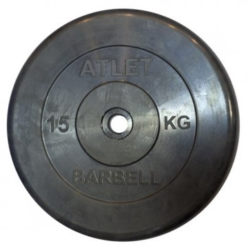 ����� � ���������� ��������� 26 �� / MB Barbell / MB-AtletB26-15