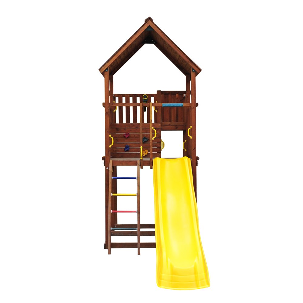 Площадь необходимая для установки игровой площадки Jungle Gym Palace