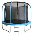 Батут Bondy Sport 6 ft 1,83 м (синий) с сеткой и лестницей