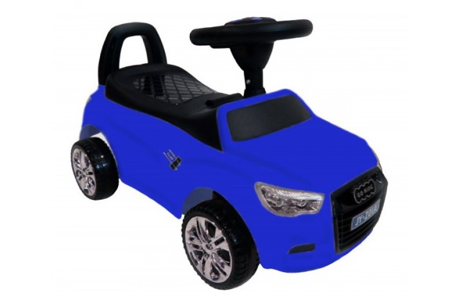 Толокар (каталка) RiverToys Audi JY-Z01A, цвет синий