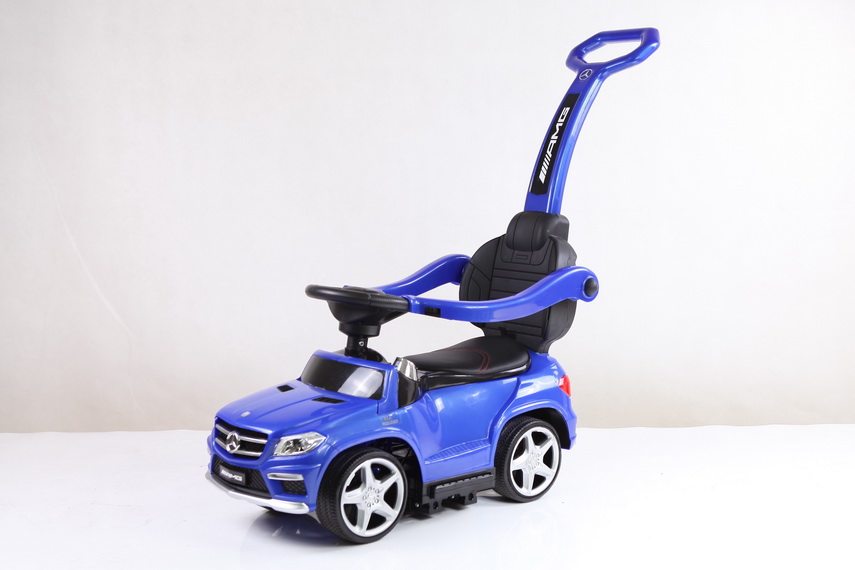 Толокар (каталка) RiverToys Mercedes-Benz GL63 A888AA-M, цвет розовый