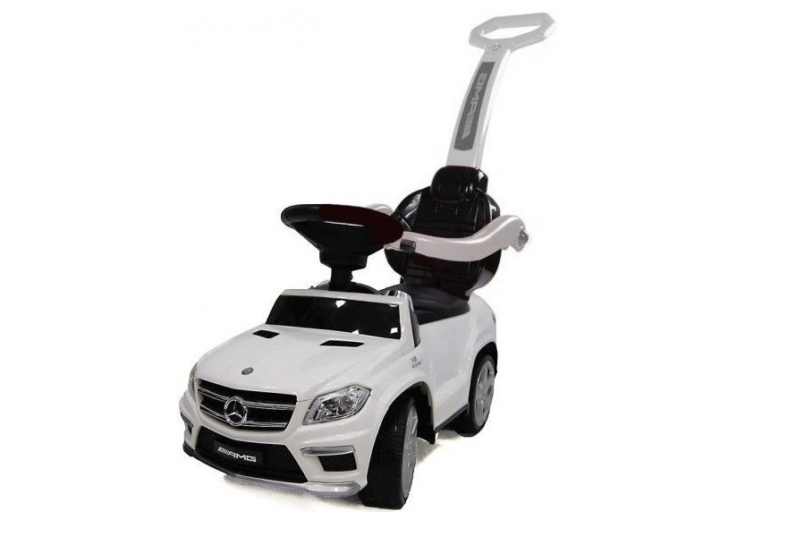 Толокар (каталка) RiverToys Mercedes-Benz GL63 A888AA-H, цвет белый