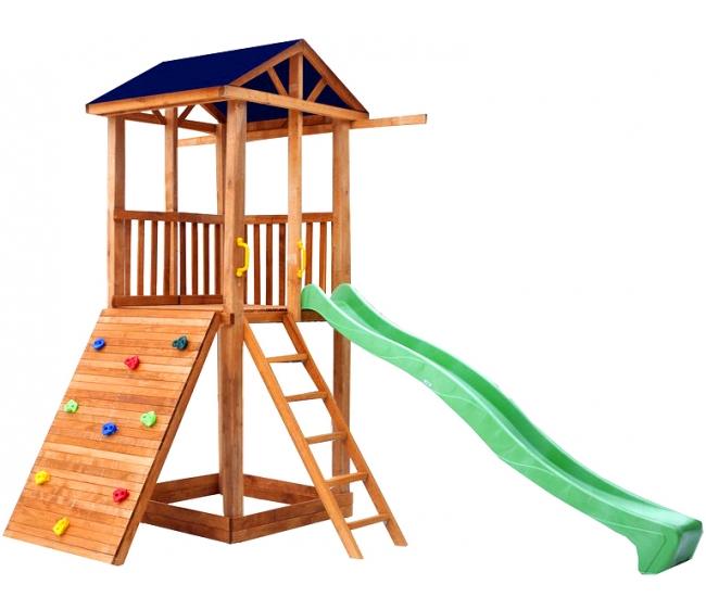 Деревянные уличные детские комплексы   Можга   Спортивный городок 5 (Крыша  Тент) ffa1b3eff5b